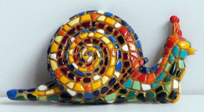 Barcino Designs Snail Magnet